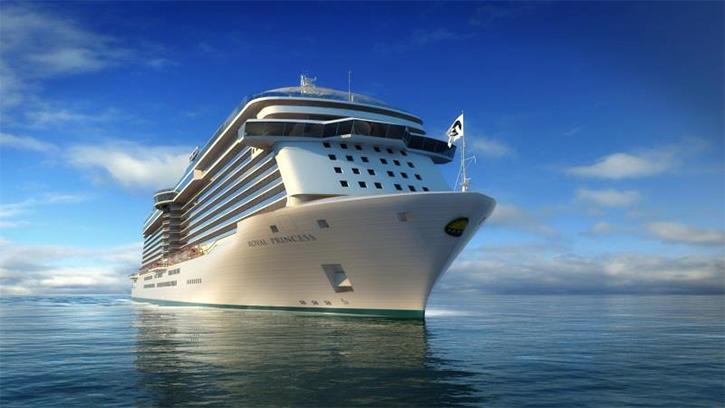 Princess Cruises lance la construction du 4ème navire de la classe Royal