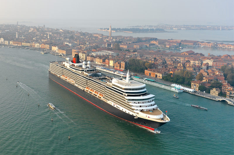 La «Reine Elizabeth» de passage en Australie en 2019