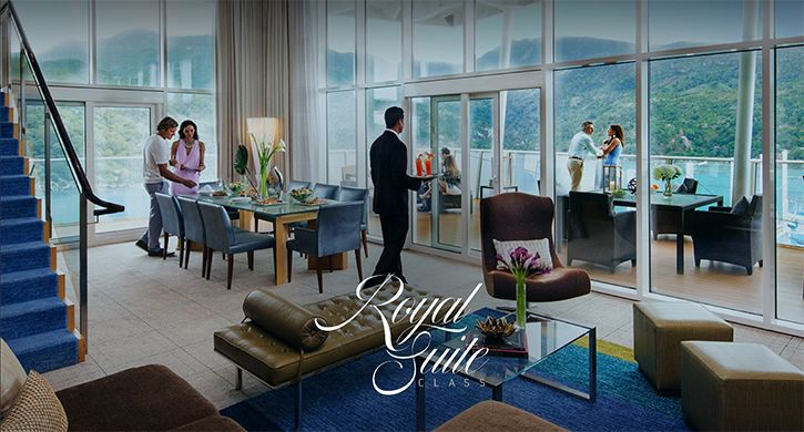 Création d'un nouveau service Royal Suite Class pour la compagnie Royal Caribbean.