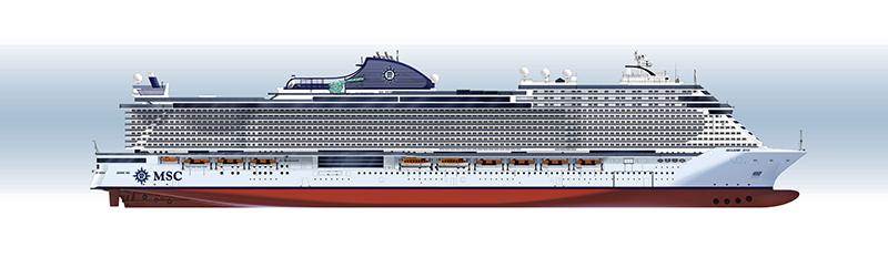 MSC Croisières: 2 nouveaux navires «Seaside» pour 2021 et 2023.