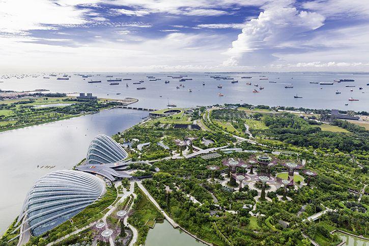 Royal Caribbean met en avant la ville de Singapour