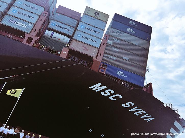 Un nouveau porte-conteneurs pour MSC