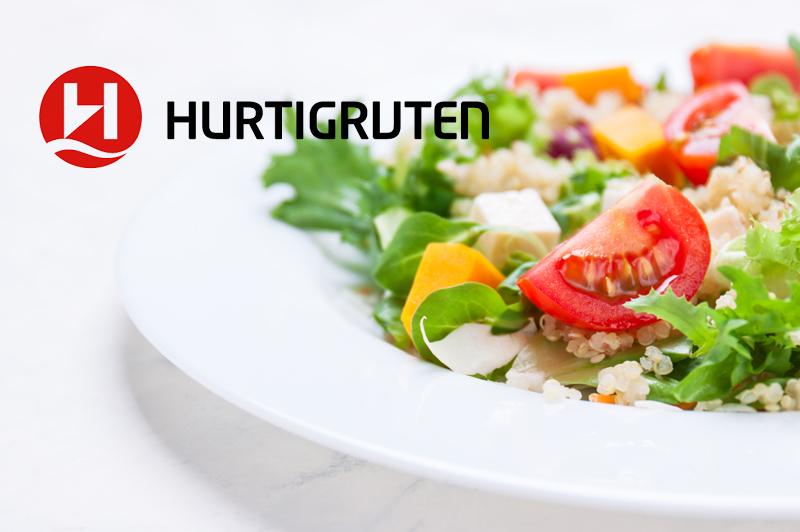 Hurtigruten lance son menu spécial Végétalien